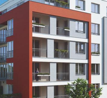 Soubor 3 bytových domů Dalejka – Praha 5