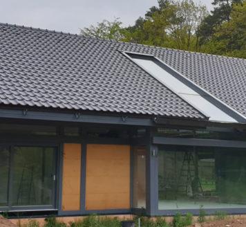Novostavba rodinného domu s instalací zemního čerpadla – WZS 82